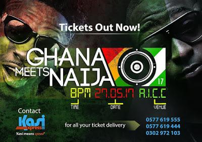 Mad Rush For 2017 Ghana Meets Naija Tickets