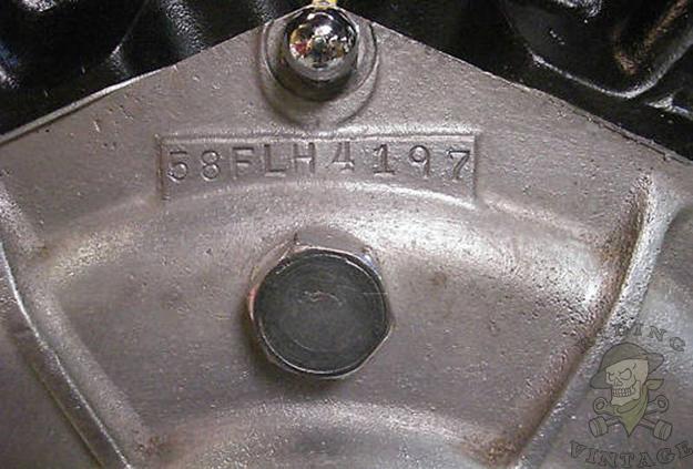 deciphering harley's vin numbers 1936 - 1964 - riding vintage