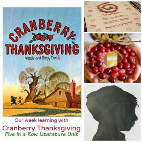 Cranberry Thanksgiving Lesson Plans