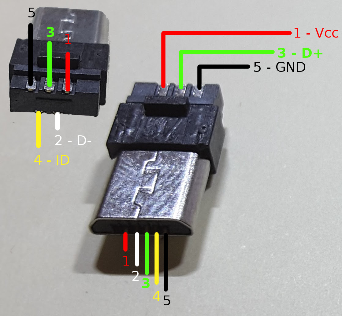 Usb Host Cable Wiring Diagram Toyota Head Unit Otg Micro