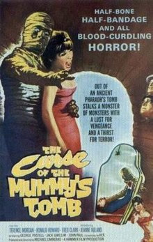 The Curse of the Mummy's Tomb 1964 Dual Audio BRRip 480p 250Mb x264