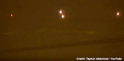UFO Videotaped in the sky over Moscow 1-31-16
