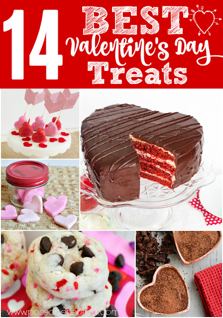 14 of the Best Valentine's Day Treats for you to make for your sweeties! From simple to elaborate, you're bound to find the perfect treat!