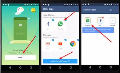Cara Install 2 Akun WhatsApp di Android