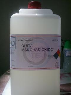 Producto de Limpieza para Lavanderia Quita Oxido para Ropa