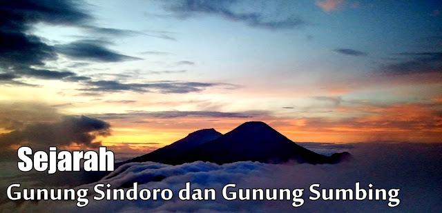 sejarah gunung sumbing dan gunung sindoro