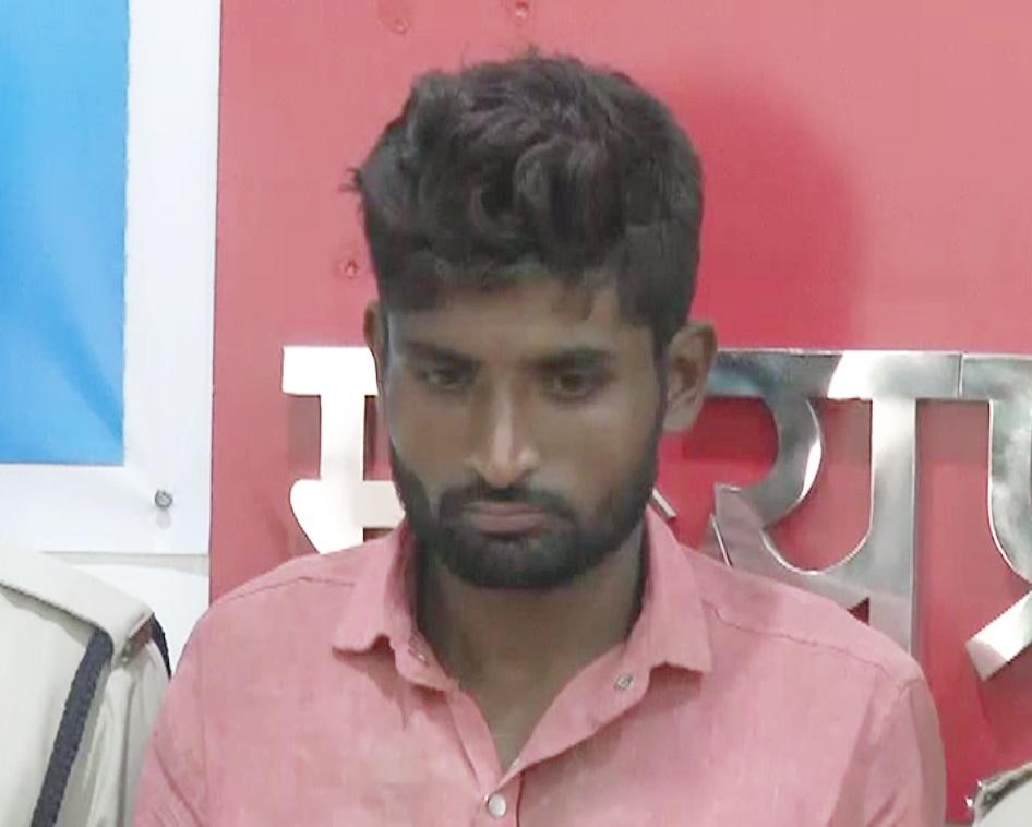 प्रधान आरक्षक पर हमला करने वाला अंतर्राज्यीय आरोपी गिरफ्तार-Interstate-accused-arrested-for-attacking-consteble-jhabua