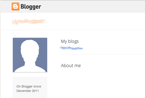 how to change profile picture on blogger