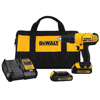 The DEWALT DCD771C2 20 Volt Max Lithium-Ion Compact Drill Kit