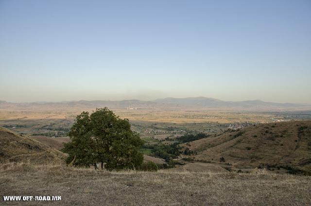 anorama - view from St. Iliya monastery - Krklino village - Bitola Municipality