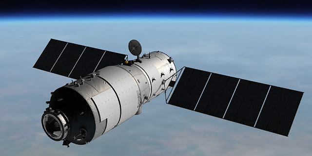tiangong 1 space laboratory to fall to earth in about 2 3 weeks