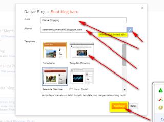 cara membuat blog keren di blogger