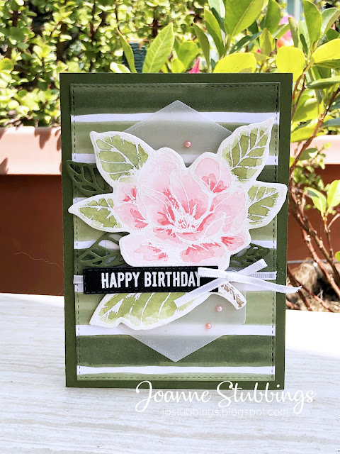 Jo's Stamping Spot - Global Design Project #GDP217 using Good Morning Magnolia bundle by Stampin' Up!