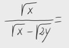 50.Racionalización (Con sumas o restas de raíces en denom.)