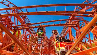 Mitabilandia roller coaster