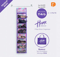Dusdusan Homedeco Fillea Shoes Organizer ANDHIMIND
