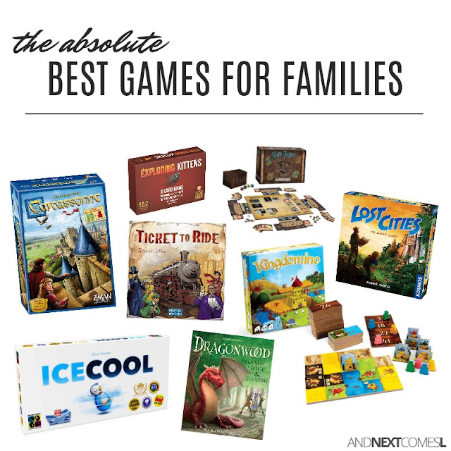 The best board games and card games for families from And Next Comes L