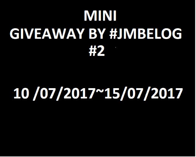 giveaway jmblog