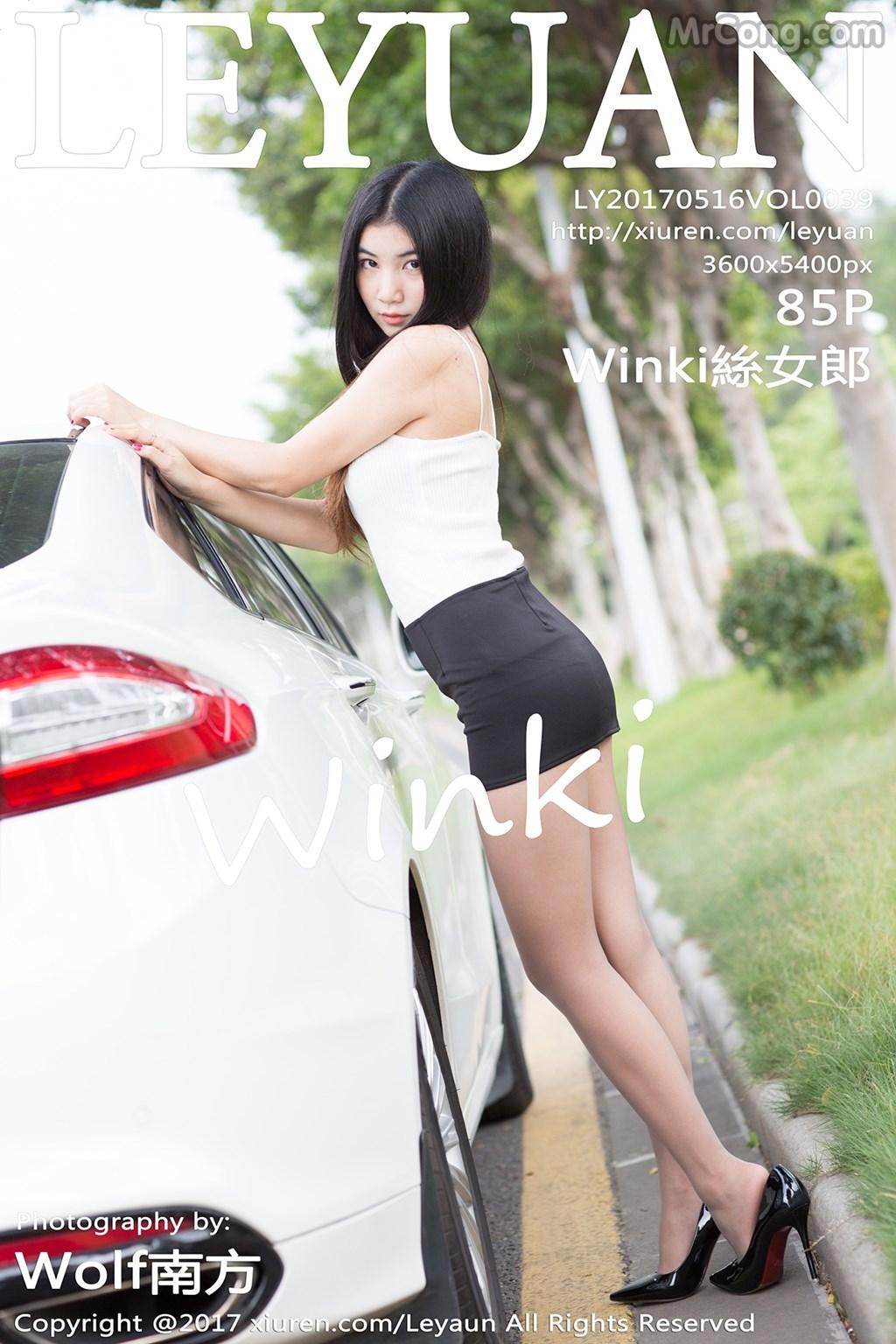 LeYuan Vol.039: Người mẫu Winki (絲女郎) (86 ảnh)