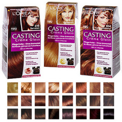 100 Colorations Casting Crème Gloss de l'Oréal Paris à tester !