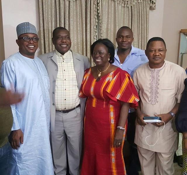 Senator Akume returns, see more photos
