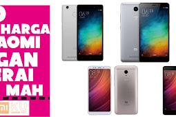 10 Daftar Harga HP Xiaomi dengan Baterai 4000+ mAh
