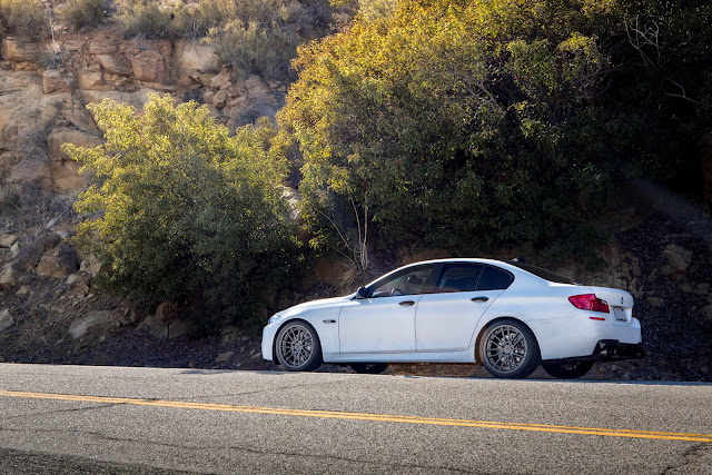 bmw 535i lowered on H&R springs