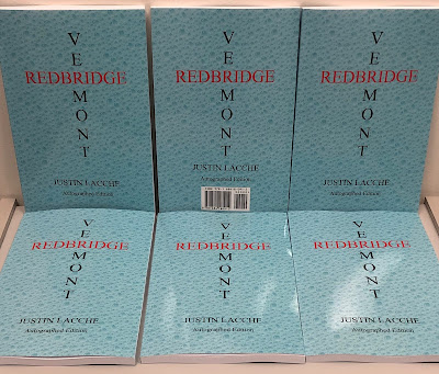 Autographed First Edition | Redbridge, Vermont | Justin Lacche | ISBN 978-168418091-2