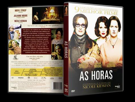 Capa DVD As Horas