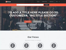THEME WORDPRESS ZERIUS RESPONSIVE FREE