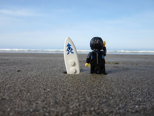 #LEGO #skaterdude travels to #California by Mini-Lili