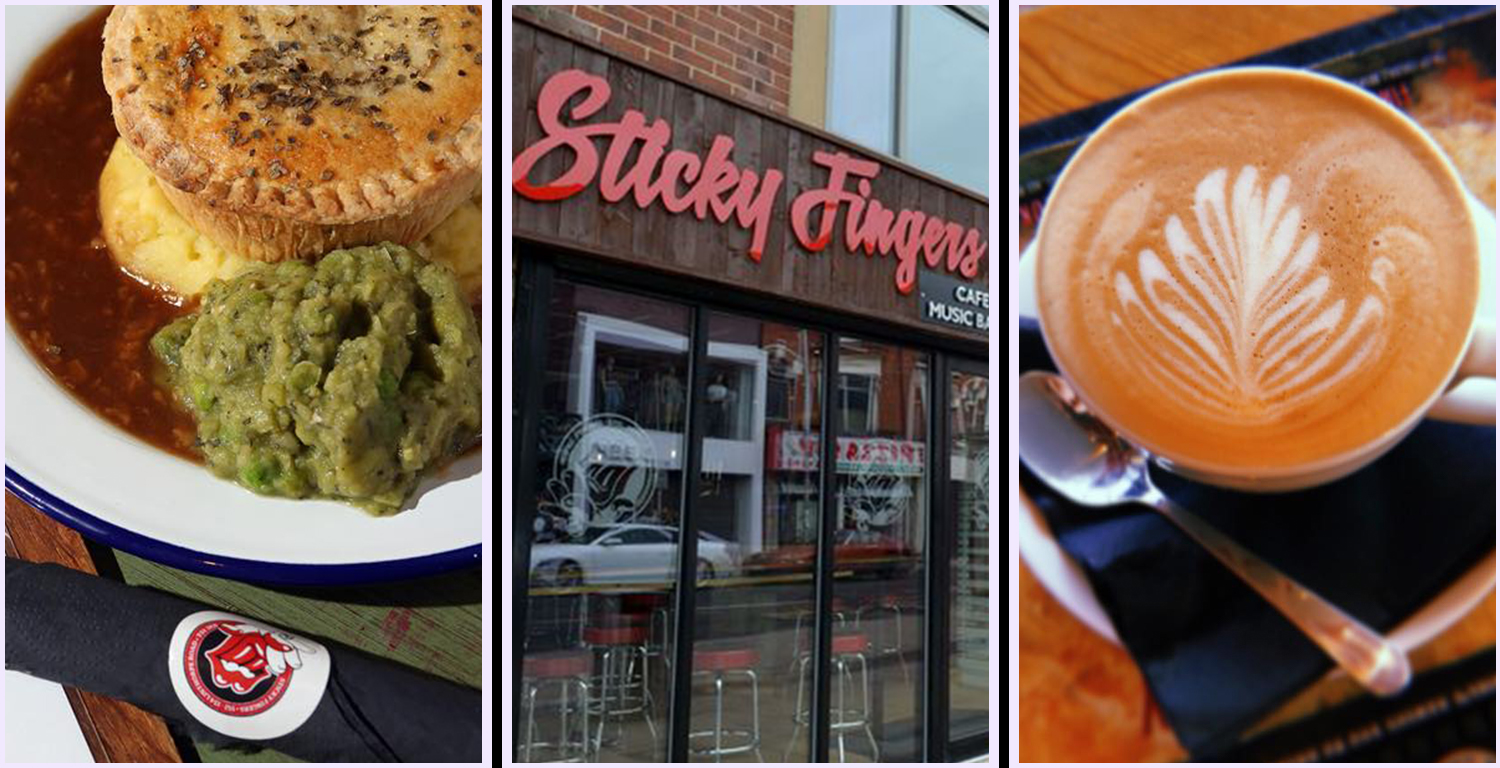 #6 rated restaurant in Middlesbrough according to Trip Advisor, Sticky Fingers Cafe & Bar