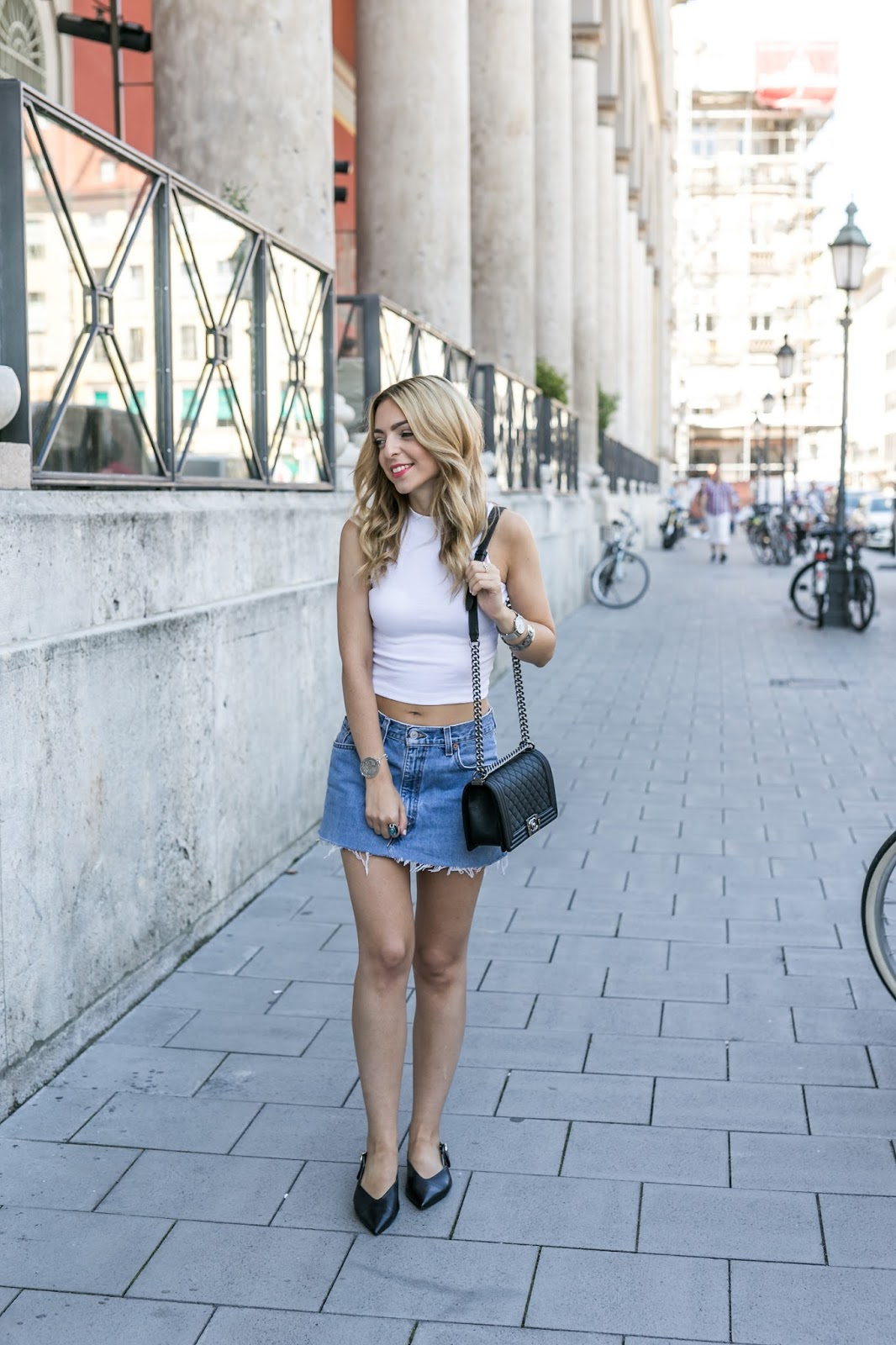 Want Get Repeat Blog How to wear a denim skirt