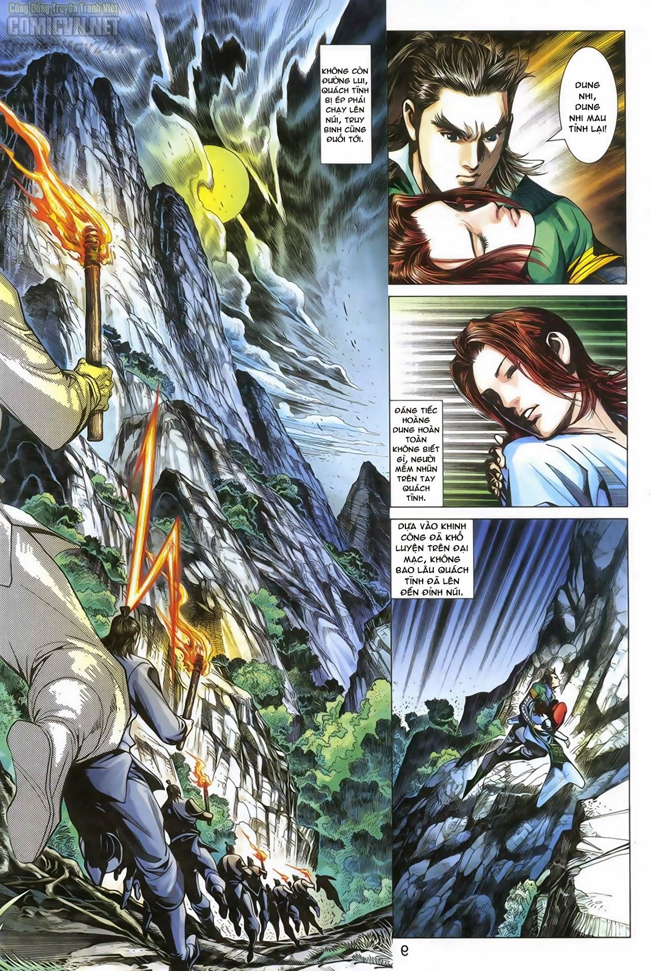 Anh Hùng Xạ Điêu anh hùng xạ đêu chap 69: hồn đoạn thiết chưởng phong trang 10