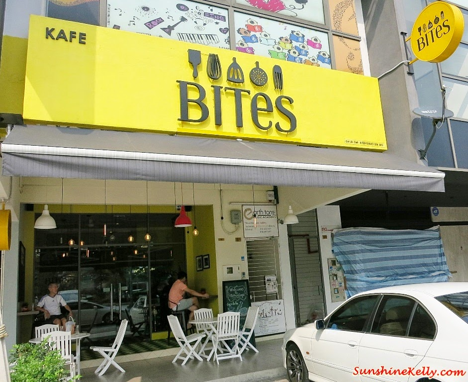 Bites Cafe Lake Fields, Bites Cafe, Sungai Besi, coffee place, malaysia cafe, Coffee, Waffle, Breakfast Pizza, Frittata, Affogato, The last polka, ice cream with coffee, chilled out place, chilled out cafe, egg dish
