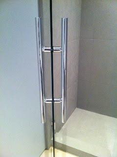 Impact With Shower Door Handles Ot Glass