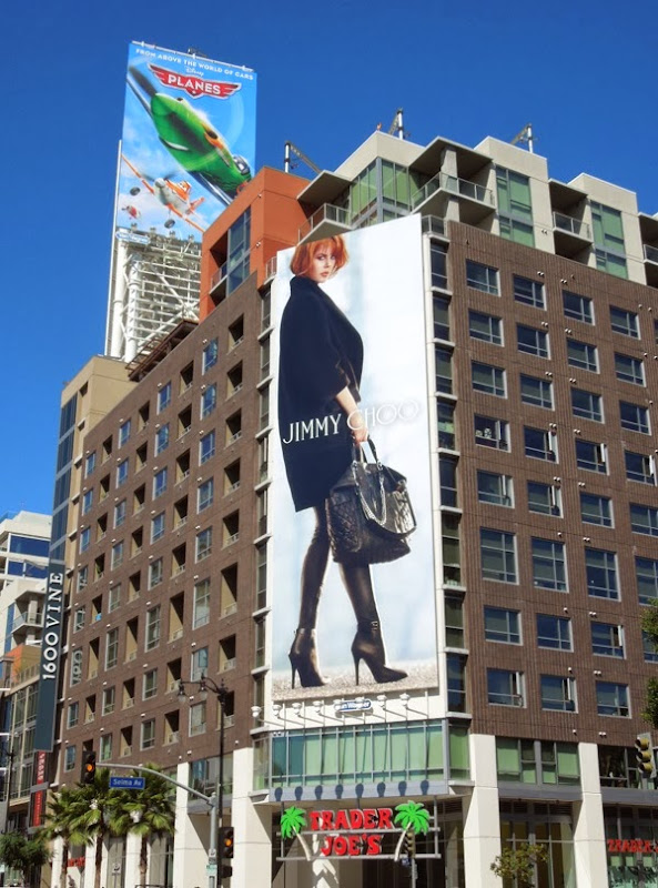 Nicole Kidman Jimmy Choo FW 2013 billboard Hollywood