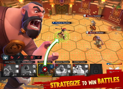 Download Game Gladiator Heroes APK DATA MOD