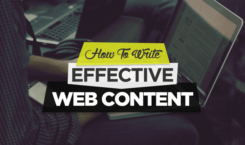 How To Write Effective Web Content - #infographic #contentmarketing