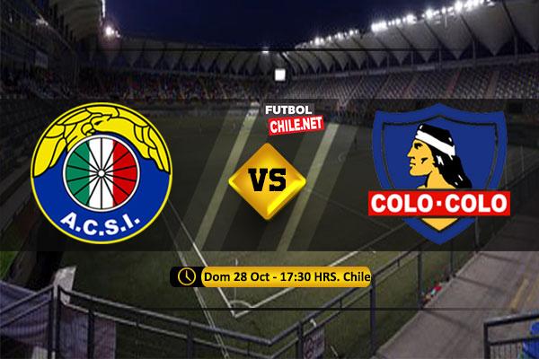 PREVIA: Audax Italiano vs Colo-Colo
