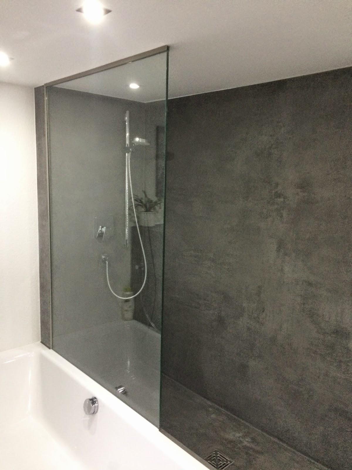 Badezimmer Beton Cire