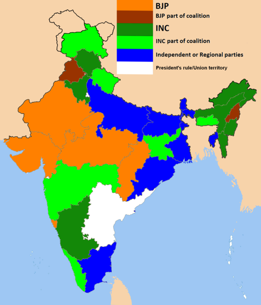 State Governments in India 2014