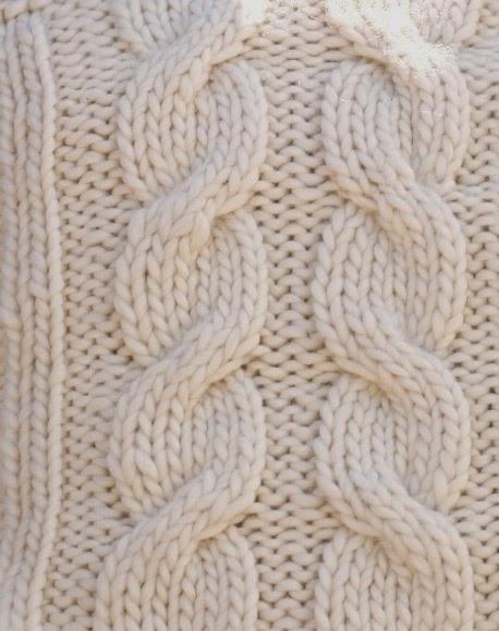 Kussens Met Kabel Zelf Breien Patroon Voor Kabels