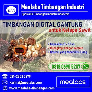 Timbangan Sawit Digital