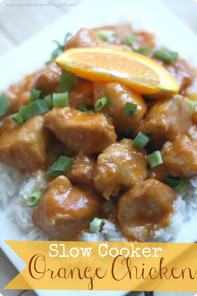 Slow Cooker Orange Chicken #Food #Recipes #Delicious #HealthyFoods