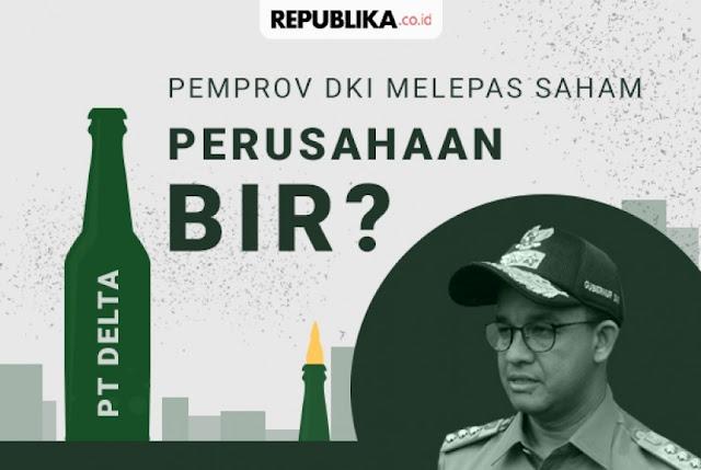 Khawatir Banyak Dosanya, Gerindra Dukung Anies Jual Delta Djakarta