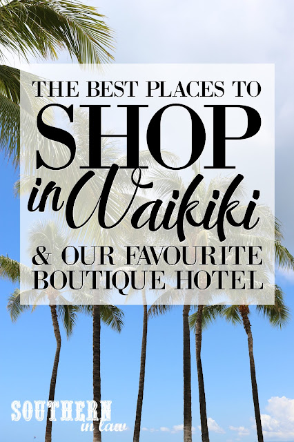 From the best stores and shopping malls in Hawaii to find a bargain to where to buy Elvis souvenirs in Waikiki, Kristy and Jesse share their tips and tricks for the ultimate shopping experience and their list of the best places to shop in Waikiki - as well as a review of their favourite Boutique Hotel - Coconut Waikiki Hotel.