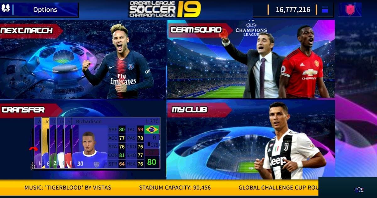 DLS 19 Champions League Edition