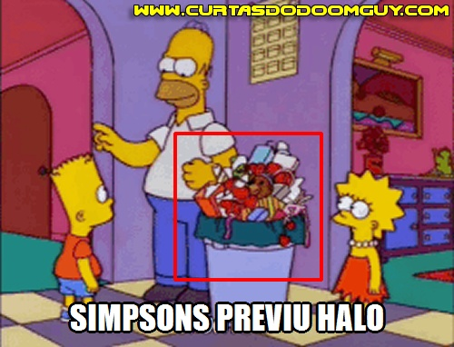 Simpsons previu Halo