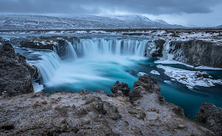 Irlândia-Godafoss-Cachoeira
